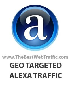 Buy Alexa Traffic Rank - GEO Targeted Alexa Ranking