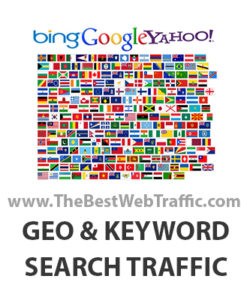 Targeted Country Local Search Website Traffic
