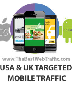 USA UK Canada Targeted Mobile Traffic