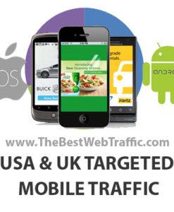 USA UK Canada Targeted Mobile Traffic